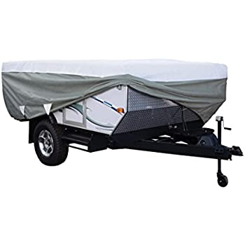 Classic Accessories OverDrive PolyPRO 3 Deluxe Pop Up Camper Trailer Cover,  Fits 12u0027