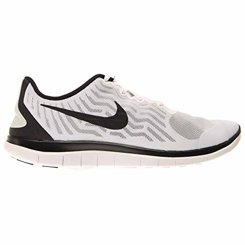Nike Free 4.0 White/Black/Platinum J00KA2nIeq