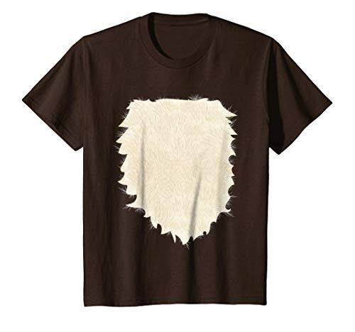 Kids Fox, Deer, Buck, Doe, Wolf Halloween Costume T shirt 12 Brown ()