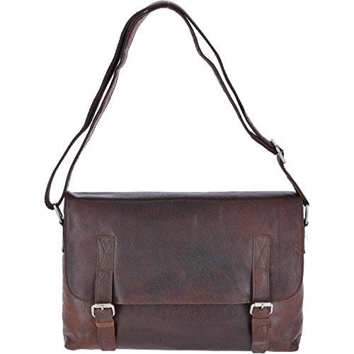 Leather Size One F Bag Brandy Messenger Ashwood 85 Vintage Rv6qq
