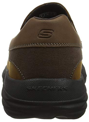 Brown Harsen Marron Homme Mocassins Dark Cdb Skechers Ortego nwdpPqYY