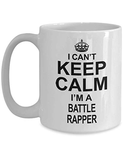 Hip Hop/Rap Gifts For Women And Men - Coffee Mug For Battle Rapper Practitioners And Fans/Hobbyists, Battle Rapper Cup, Ceramic