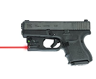 Viridian Green Laser Sights Viridian Reactor 5 red laser sight, features ECR Instant On, includes hybrid holster