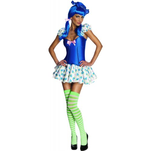 Blueberry Muffin Adult Costume (Blueberry Muffin Costume - Large - Dress Size 12-14)