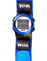 WobL 8 Alarm Vibrating Watch - Blue