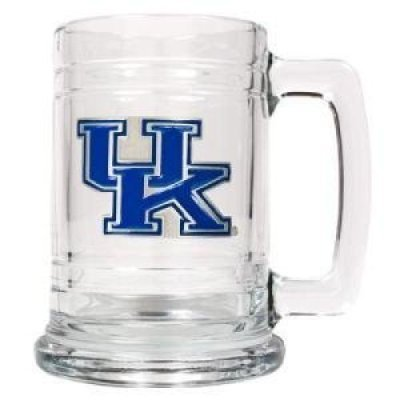 Great American Products Kentucky Wildcats 16oz Glass Tankard