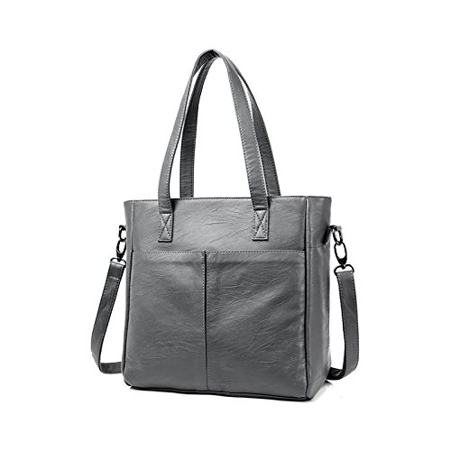 Fashion Shoulder Women Bag New Large Diagonal Gray Retro Package Bag Capacity Tisdaini Tote Handbags nRZcpzWnB
