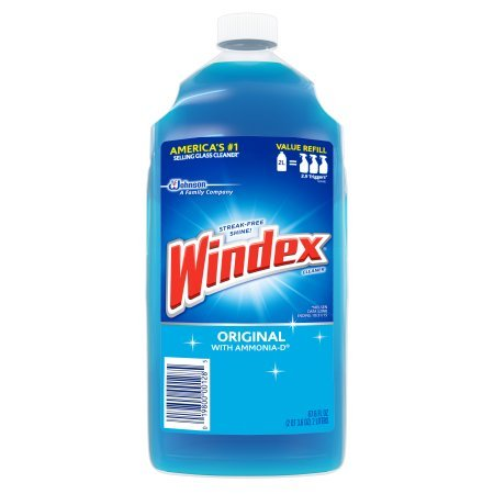 Windex Original Glass Cleaner Refill 67.6 Ounces (2 Liter) (Week Original Refill)