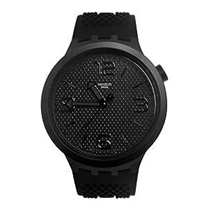 Swatch Reloj Analógico para Hombre de Cuarzo con Correa en Silicona SO27B100 5