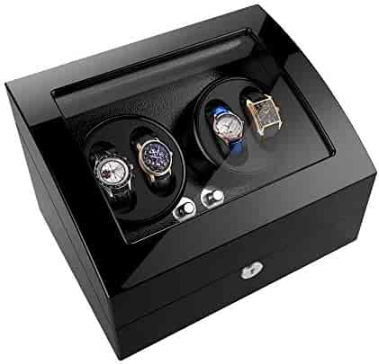 Watch Winder For Rolex Automatic Watches,Wood Shell + Piano Paint +Japanese Motor