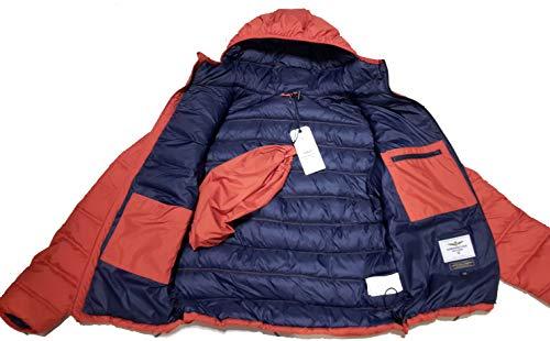 para Chaqueta sudadera Aeronautica hombre pantalones naranja Ab1686ct Militare chaqueta UrEwYW5xwq