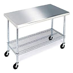 Stainless Steel Work Table - 49\