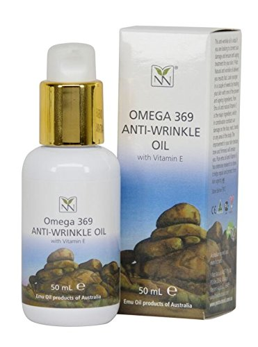 Y-Not Natural® Anti Wrinkle Face and Body Oil with Emu Oil, Vitamin E, and Essential Oils - The Ultimate Natural Moisturizer for Anti-Aging, Wrinkle Prevention, and Younger Looking Skin