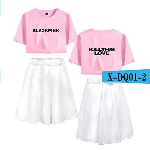 Lafayette Suit Skirt - dankmore Manufacturer Blackpink Kill This Love Summer Crop Cool Leisure Short Skirt Female Suit A Suit of 38 XXL