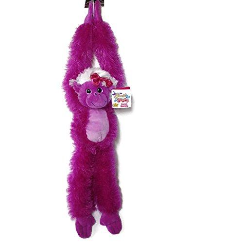 (Wild Republic - Sweet & Sassy - Purple Hanging Monkey 20