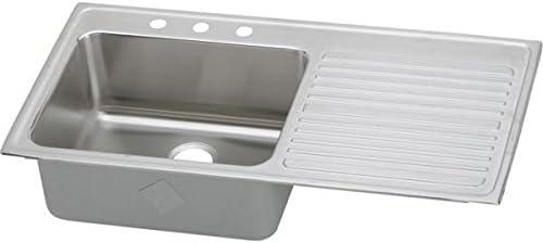 Elkay ILGR4322L4 Sink, White