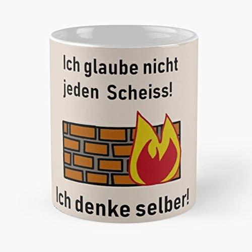 Think Firewall Fire - Coffee Mugs Unique Ceramic Novelty - Womens Firewall