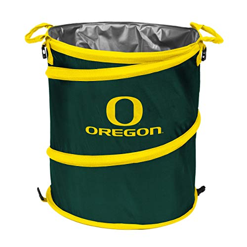 - NCAA Oregon Ducks Collapsible 3-in-1 Trash Can, Adult, Green