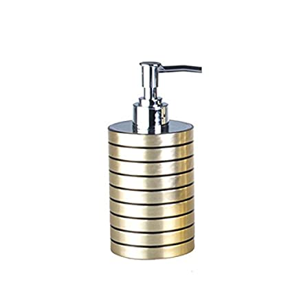 Amazoncom Novelty Metallic Lotion Bottle Hand Pump Punk Style Soap - Metallic gold bathroom accessories