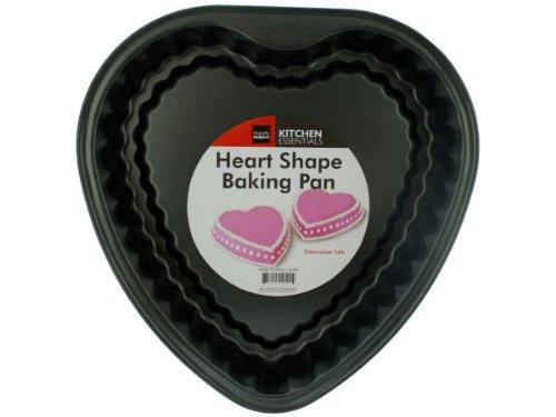 Handy Helpers Heart Shape Baking Pan - Pack Of 4