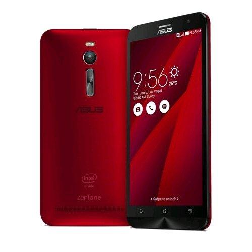 Amazon Com Asus Zenfone 2 Ze551ml Red 32gb 4gb Ram Unlocked