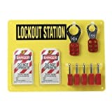 5-LOCK BOARD WITH SAFETY PADLOCKS