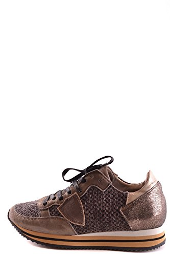 Leather MCBI238054O Brown Women's Model Sneakers Philippe qOaIEE