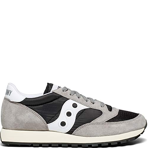 Jazz Saucony Original 37 Vintage Baskets grey Homme Grigio black white AqTqBwPd