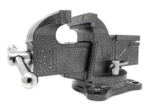 - WEN 453BV 3-Inch Heavy Duty Cast Iron Bench Vise with Swivel Base