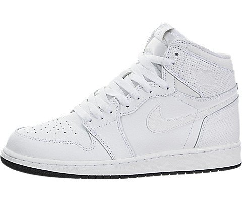 Jordan Air 1 Retro OG (Kids) White/Black-White
