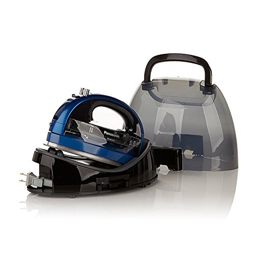 Panasonic 360º Ceramic Cordless Freestyle Iron - Metallic Blue by Panasonic