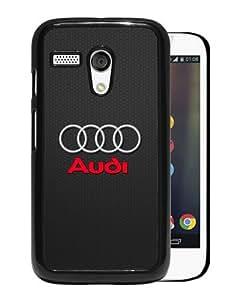 Provide Personalized Customized Audi Logo Black Case For Motorola Moto G Phone Case Cool Design