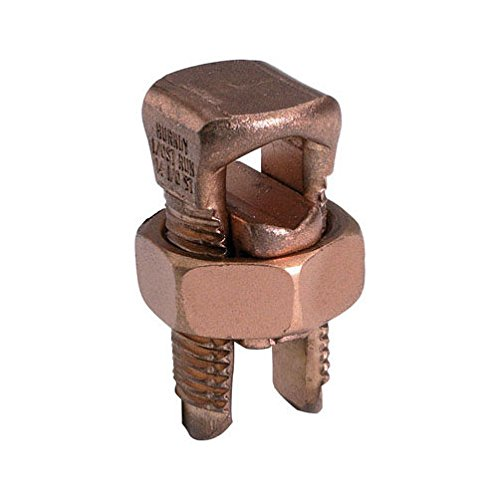 Burndy Split Bolt Connector Ul 8 Awg Clamshell 5 / Clamshell
