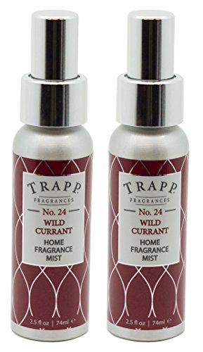 Trapp Home Fragrance Mist, No. 24 Wild Currant, 2.5-Ounce (2-Pack)
