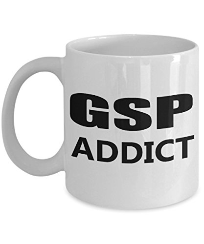 GSP Mug - German Shorthaired Pointer Addict Funny Coffee Cup Gift For Dog Lovers