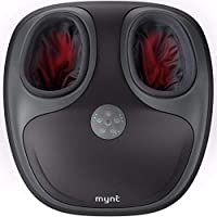 Mynt Shiatsu Air Pressure Massage with Heat for Ankle Heel Bridge and Toes