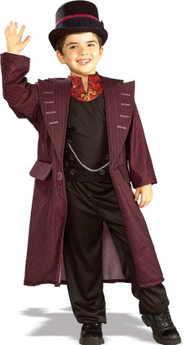 Rubie's Kid's Charlie And The Chocolate Factory Willy Wonka Costume, Large, Age 8 - 10, HEIGHT 4' 8