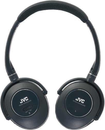 JVC HA-NC260 Noise Cancelling Headphones (Black)