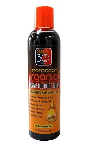 Salon Pro 30 Sec Moroccan Argan Oil Weave Wonder Wrap Dark