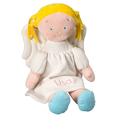 - Miles Kimball Personalized Plush Angel Doll - Blonde