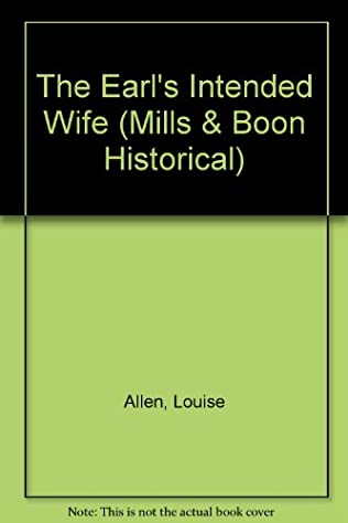book cover of The Earl\'s Intended Wife