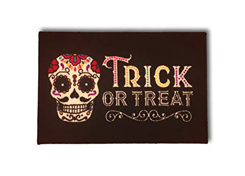 Halloween Sugar Skull Area Rugs Trick Or Treat - Accent Rugs- 20