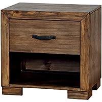 247SHOPATHOME Idf-7250N, nightstand, Brown