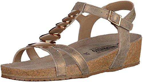 Mephisto Irma Fashion 26665 Dark Taupe - Sandalias Mujer BRONZO