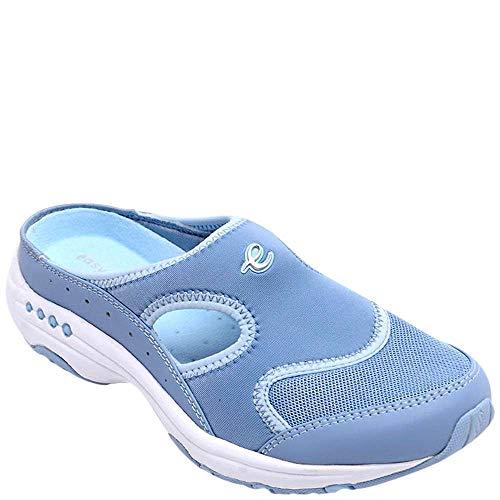 Easy Spirit Womens Instep Athletic Mules 8.5 Blue (Spirit Instep Easy)