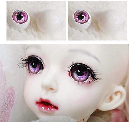アリスの人形屋Bjd 目の人形の目のための 1/3 1/4 1/6 sd BJD 人形おもちゃ 12mm14mm 16 ミリメートル 18 ミリメートル 22 ミリメートルピンクリダイヤルライン 3d プリントプラスチック目の少年少女