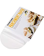SMARTAKE 200 Pcs Parchment Paper Baking Sheets Round, Non-Stick Precut Baking Parchment, Perfect for Baking Grilling Air Fryer Steaming Bread Cup Cake Cookie and More