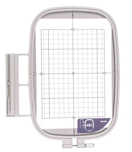 Sew Tech Large Embroidry Hoop 5'' x 7'' (130x180mm)- Brother, Babylock (SA439) (EF75) by SewTech