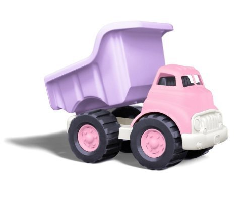 Green Toys Dump Truck, Pink & Dump Truck Vehicle, Red Playsets Toy fot Kids