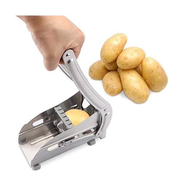 French Fry Potato Cutter, Slicer, Chopper